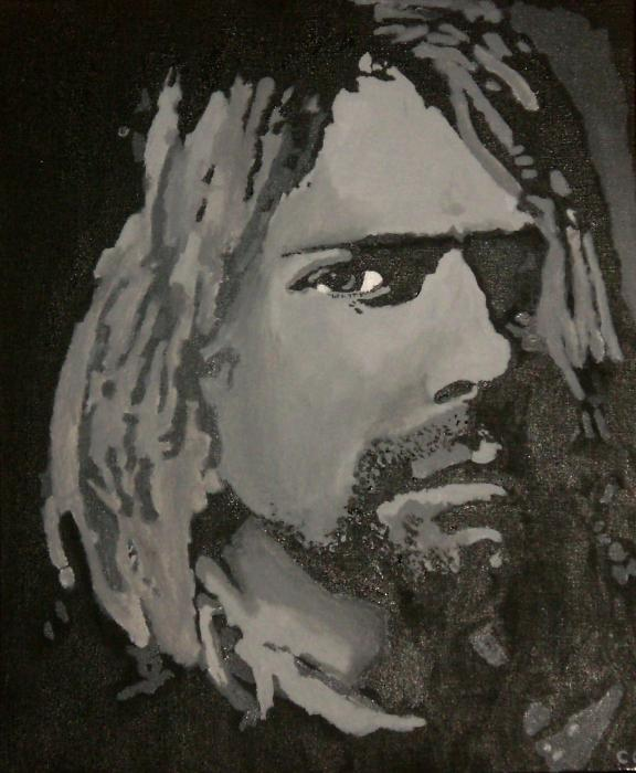 Kurt Cobain par Celoush